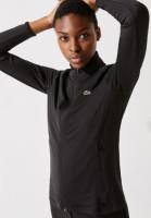 Męskie polo tenisowe Lacoste Men's SPORT Roland Garros Cotton Plant Design Polo Shirt - white/navy blue