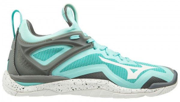 Damskie buty do squasha Mizuno Wave Mirage 3 - aruba blue/white/grey