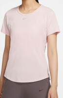 Nike One Luxe Dri-Fit SS Standard Top W - pink glaze/reflective silver