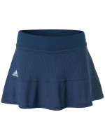 Damska spódniczka tenisowa Adidas Match Skirt Heat Ready - tech indigo/dash green