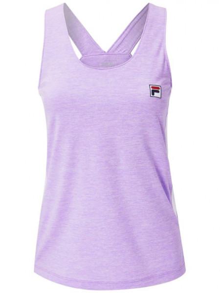Marškinėliai moterims Fila Top Sera W - purple melange
