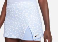 Damska spódniczka tenisowa Nike Court Dri-Fit Victory Skirt Printed W - aluminum/aluminum/black