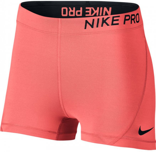 "Nike Pro 3"" Short - crimson pulse/white"