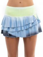 Damska spódniczka tenisowa Lucky in Love Going Wild Ombre Rally Skirt Women - cloud