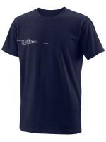 Marškinėliai berniukams Wilson Team II Tech Tee Youth - team navy