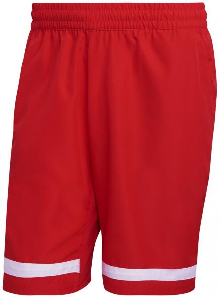 Teniso šortai vyrams Adidas Club Short M - vivid red/white
