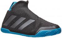 Teniso batai moterims Adidas Stycon W - core black/nigh metallic/sharp blue