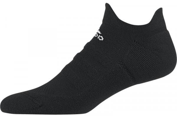Čarape za tenis Adidas Alphaskin Lightweight Cushioning No-Show - 1 para/black/white