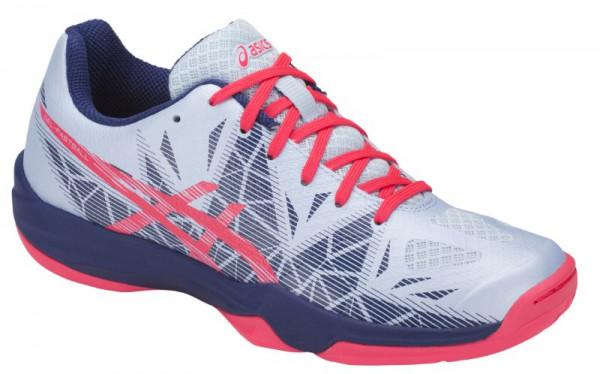 Buty do squasha Asics Gel-Fastball 3 - soft sky/diva pink