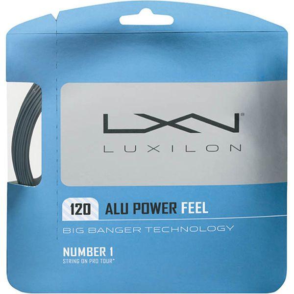 Tennisekeeled Luxilon Big Banger Alu Power Feel 120 (12.2 m)