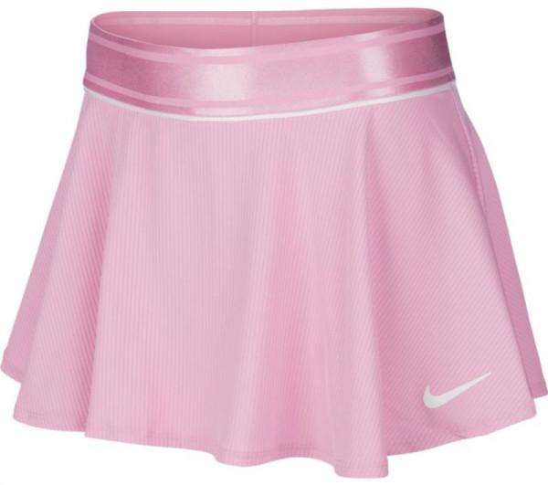 Spódniczka dziewczęca Nike Court G Flouncy Skirt - pink rise/pink rise/white/white