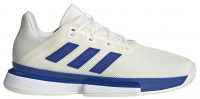 Men's shoes Adidas SoleMatch Bounce M - white/team royal blue/white