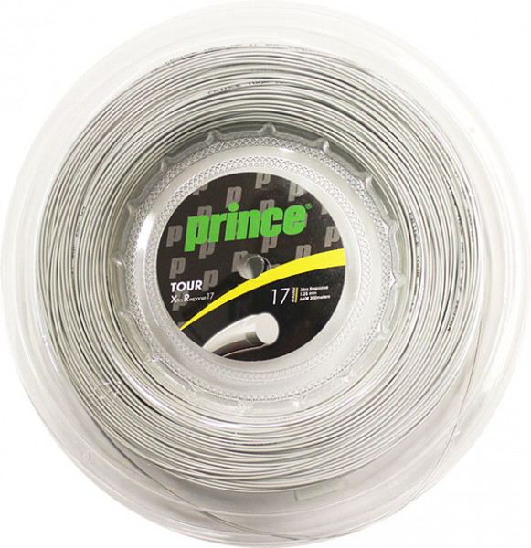 Tennis String Prince Tour Xtra Response 17 (200 m) - silver