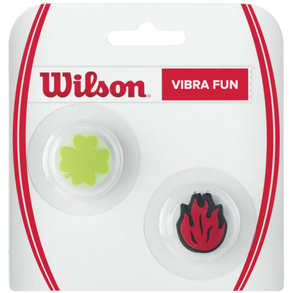 Vibration dampener Wilson Vibra Fun Clower Flame (2 szt.) - red/green