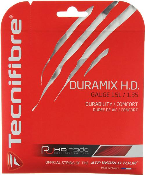 Tenisa stīgas Tecnifibre Duramix H.D. (12 m) - red