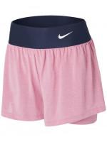 Nike Court Dri-Fit Advantage Short W - elemental pink/elemental pink/white