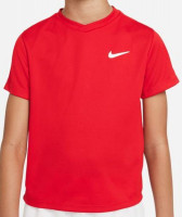 Nike Court Dri-Fit Victory SS Top B - university red/university red/white