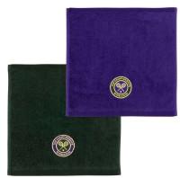 Ręcznik tenisowy Wimbledon Face Cloth Pack - green/purple