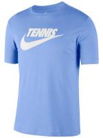 Teniso marškinėliai vyrams Nike Court Tee Tennis GFX - royal pulse/white