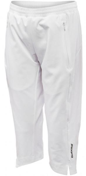 Spodnie dziewczęce Babolat 3/4 Pant Match Performance Girl - white