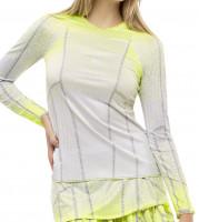 Ženska majica dugih rukava Lucky in Love Nice To Pleat You Del 1 Pleat It Up L/S W - neon yellow