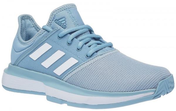 63a410adf27 Junior shoes Adidas SoleCourt xJ - ash grey/ftwr white/light granite