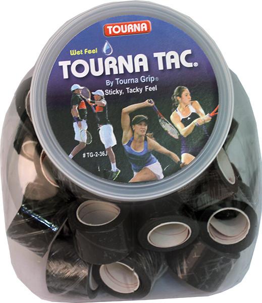Owijki tenisowe Tourna Tac Jar Display (36 szt.) - black