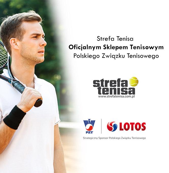 Strefa Tenisa Oficjalnym Sklepem Tenisowym Polskiego Związku Tenisowego