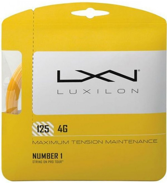 Tennisekeeled Luxilon 4G (12,2 m)