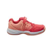 Juniorskie buty tenisowe Wilson Kaos Junior QL - cayenne/papaya punch/india ink