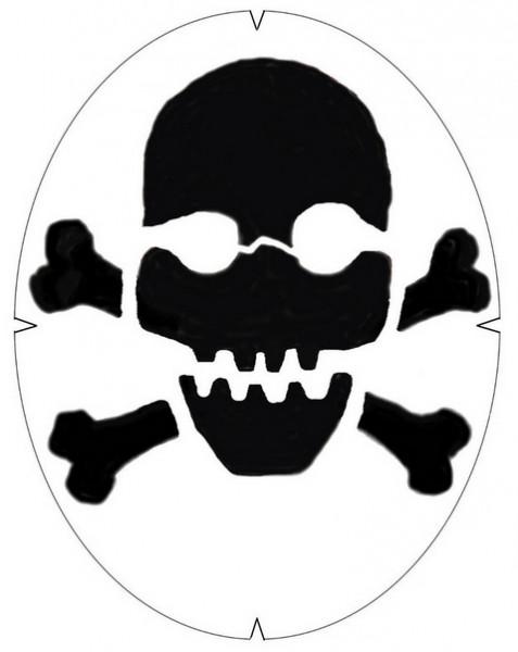 Tourna Skull & Crossbones