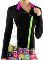 Tenisa džemperis sievietēm Lucky in Love Rockin Rococo Moto Jacket 2.0 Women - black