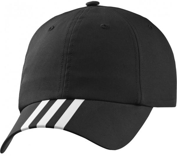 Adidas Climalite 3S Hat - black/white