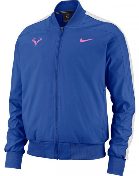 Męska bluza tenisowa Nike Court Rafa Jacket game royalchina rose