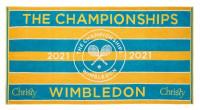 Ręcznik tenisowy Wimbledon Championship Towel with Hygro Technology - turq/ochre