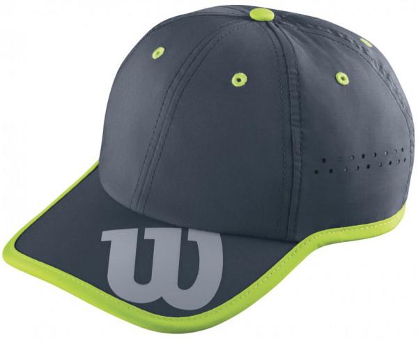 Teniso kepurė Wilson Baseball Hat - coal/granny green