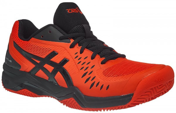 Męskie buty tenisowe Asics Gel-Challenger 12 Clay - cherry tomato/black