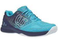 Męskie buty tenisowe Wilson Kaos Comp 2.0 - scuba blue/peacoat/white