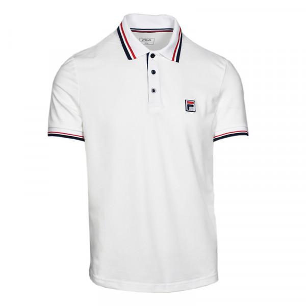 Męskie polo tenisowe Fila Polo Albert M - white