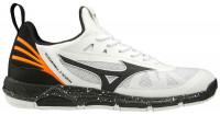 Męskie buty do squasha Mizuno Wave Luminous - white/black/orange