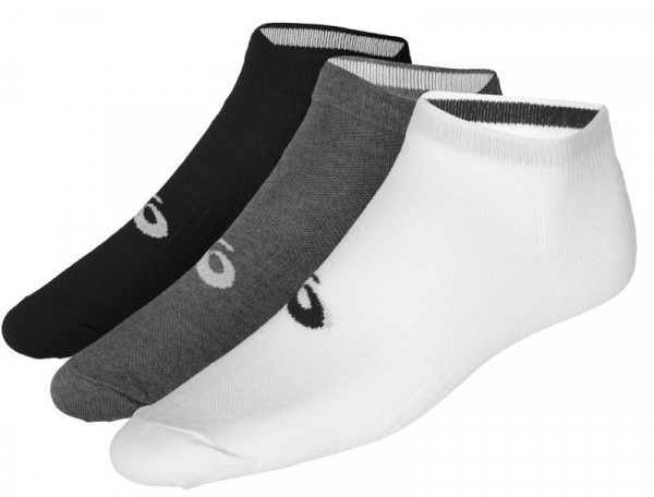 Teniso kojinės Asics 3PPK Ped Socks - 3 pary/black/white/grey