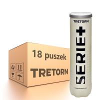 Karton piłek tenisowych Tretorn Serie+ - 18 x 4 szt.