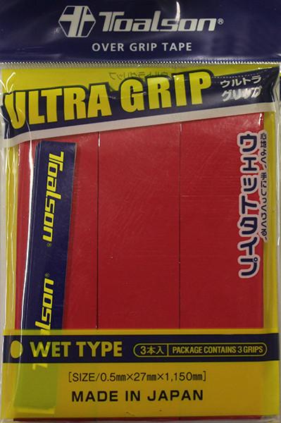 Viršutinės koto apvijos Toalson UltraGrip (3 vnt.) - red