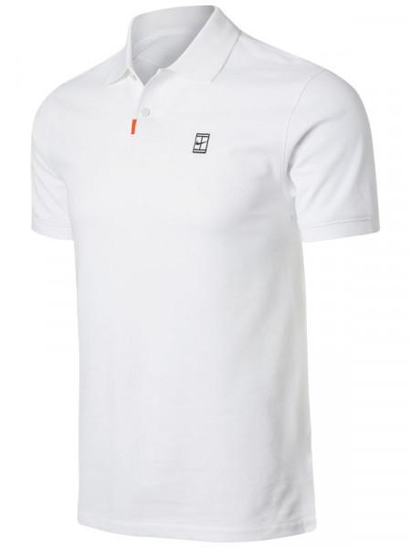 Męskie polo tenisowe Nike Polo Slam Slim M - white/white