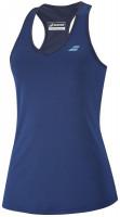Koszulka dziewczęca Babolat Play Tank Top Girl - estate blue