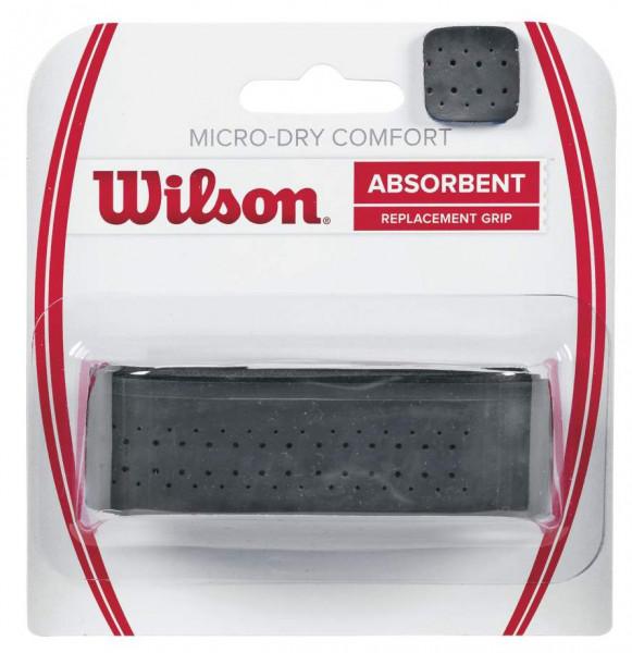 Gripovi za reket - zamjenski Wilson Micro-Dry Comfort black 1P