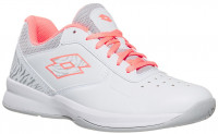 Women's shoes Lotto Space 600 II All Round W - all white/sweet rose