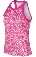 Damski top tenisowy Nike Court Women Dry Tank Printed - vivid pink/white
