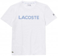 Męski T-Shirt Lacoste Novak Djokovic T-Shirt - white