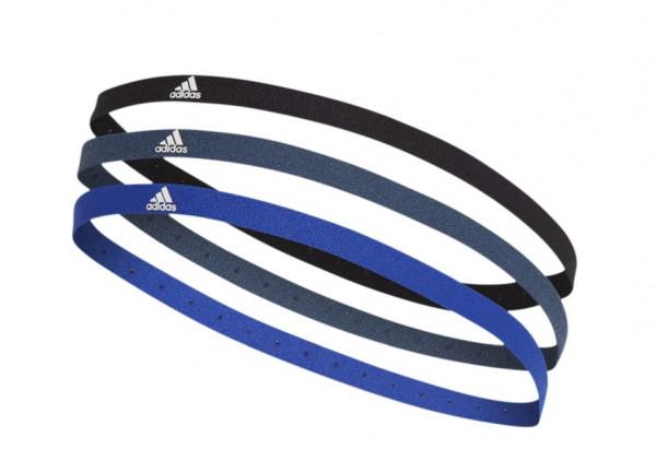 Opaska na głowę Adidas Hairband 3PP - black/crew navy/bold blue